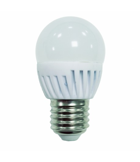 LAMPARA ESFERICA LED 9W E-27
