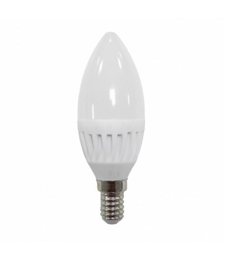 LAMPARA DE VELA LED 9W E-14