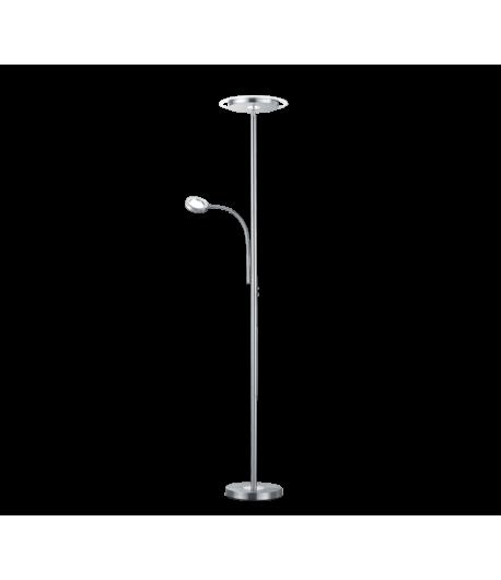 LAMPARA DE PIE LED CON LECTOR 18W + 4W