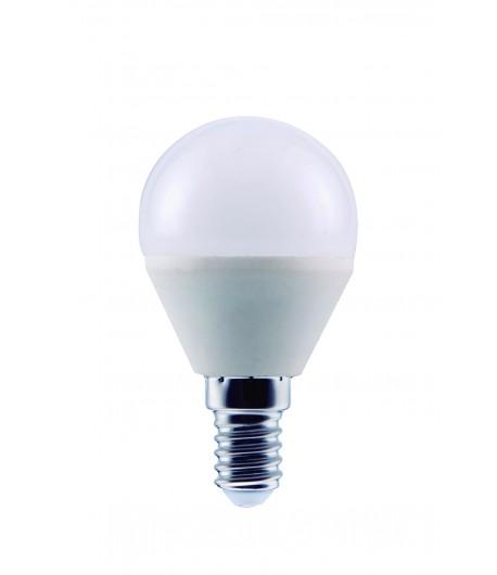 LAMPARA ESFERICA LED 7W E-14
