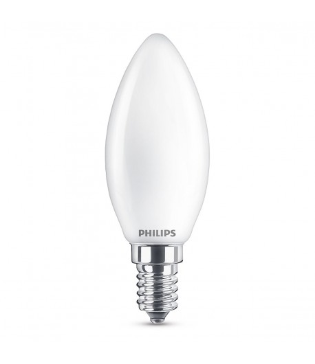 LAMPARA VELA E-14 CRISTAL 2700K 4,3W